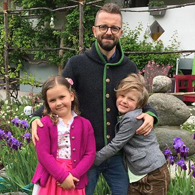 Harald Nindl & Kinder